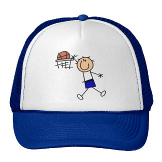 Slam Dunk Basketball - Blue Tshirts and Gifts Trucker Hat