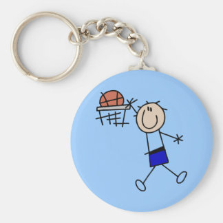Slam Dunk Basketball - Blue Tshirts and Gifts Key Chain