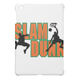 slam dunk basketball design iPad mini cases