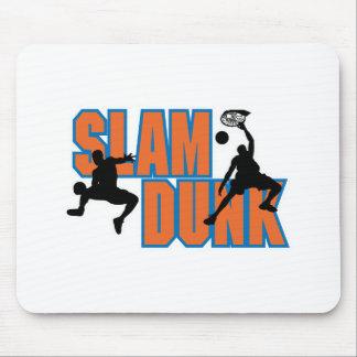 slam dunk basketball design mouse mat
