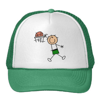 Slam Dunk Basketball Green T-shirts and gifts Trucker Hat