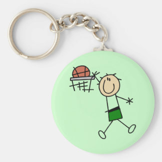 Slam Dunk Basketball Green T-shirts and gifts Key Chain