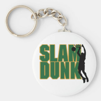 Slam Dunk Basketball Keychain
