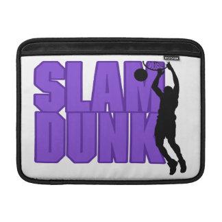 Slam Dunk Basketball MacBook Sleeve