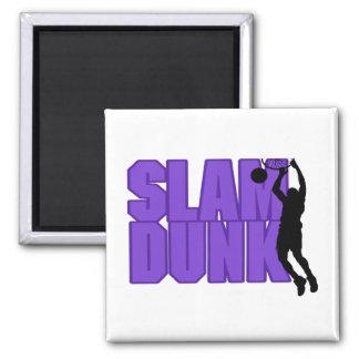 Slam Dunk Basketball Magnet