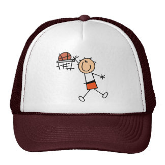 Slam Dunk Basketball Orange T-shirts and Gifts Trucker Hat