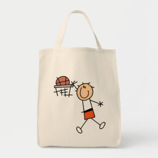Slam Dunk Basketball Orange T-shirts and Gifts Tote Bag