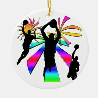 Slam Dunk Basketball Ornament