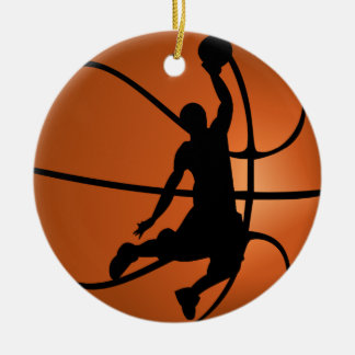Slam Dunk Basketball Player Christmas Ornament