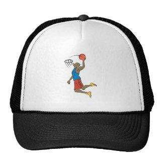 slam dunk basketball player trucker hat