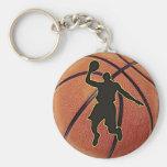 Slam Dunk Basketball Player Keychain