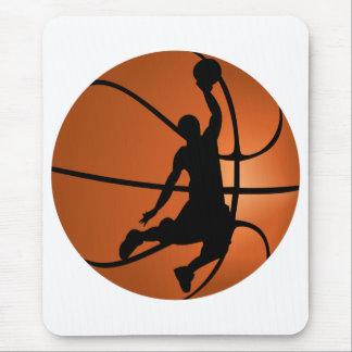Slam Dunk Basketball Player Mouse Pad