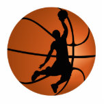 Slam Dunk Basketball Player Photo Cut Out