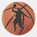 Slam Dunk Basketball Player Sticker