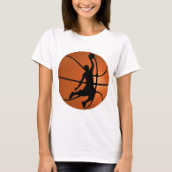 Slam Dunk Basketball Player T-Shirt