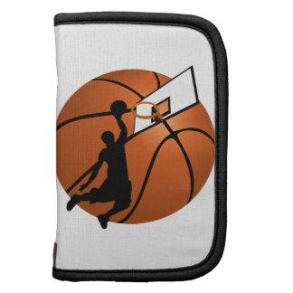 Slam Dunk Basketball Player w/Hoop on Ball Planner