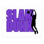 Slam Dunk Basketball Postcard