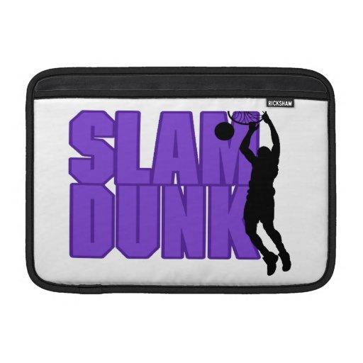Slam Dunk Basketball Sleeves For MacBook Air