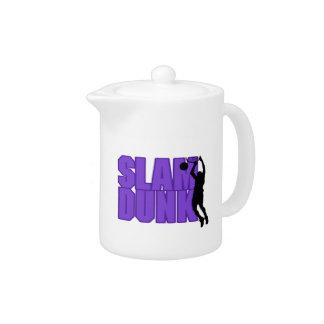Slam Dunk Basketball Teapot