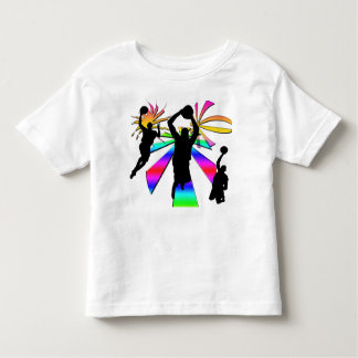 Slam Dunk Basketball Toddler T-shirt