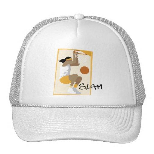 Slam Dunk Basketball Trucker Hat