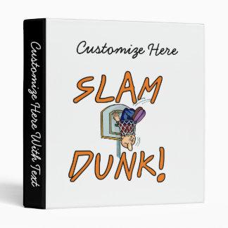 Slam Dunk Basketball Tshirts and Gifts Binder