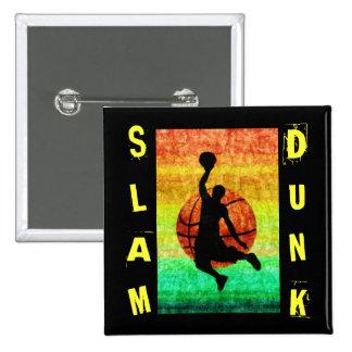 SLAM DUNK 2 INCH SQUARE BUTTON