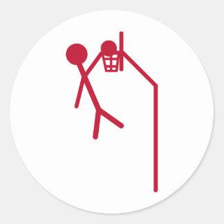 slam dunk dunking sticker