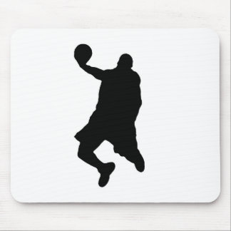 Slam Dunk Player Silhouette Mouse Pad