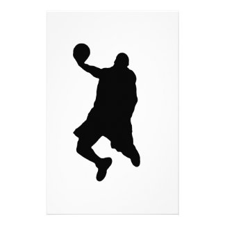 Slam Dunk Player Silhouette Stationery
