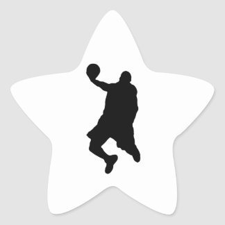 Slam Dunk Player Silhouette Stickers