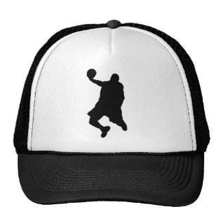 Slam Dunk Player Silhouette Trucker Hat