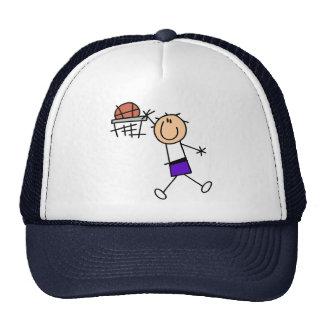 Slam Dunk Purple Basketball Tshirts and Gifts Trucker Hat