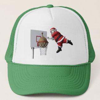 Slam Dunk Santa Claus Trucker Hat