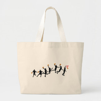 Slam Dunk Sequence Large Tote Bag