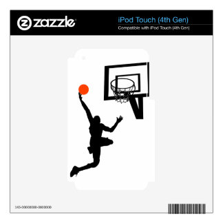 Slam Dunk Skins For iPod Touch 4G