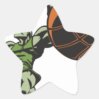 Slam Dunk Star Sticker