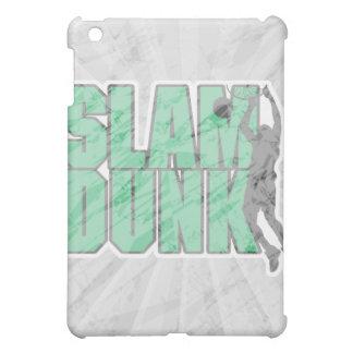 slam dunk text green and black iPad mini covers