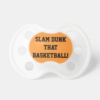 Slam dunk that Basketball Fun Pacifier