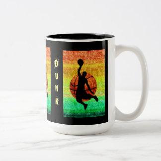 SLAM DUNK Two-Tone COFFEE MUG
