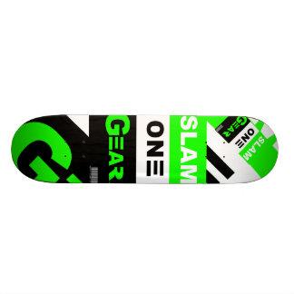 SLAM ONE GEAR Green Board Skate Board