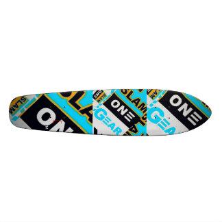 SLAM ONE GEAR Old School Skate Board