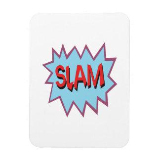 Slam Vinyl Magnet