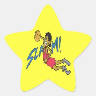 Slam Star Sticker