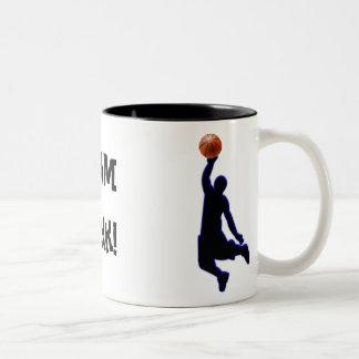 slamdunk -mug Two-Tone coffee mug