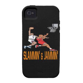 Slammin And Jammin iPhone 4 Covers