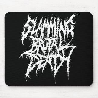 Slamming Brutal Death Metal Mouse Pad