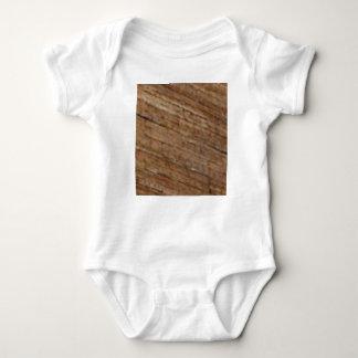 slant wood fiber baby bodysuit