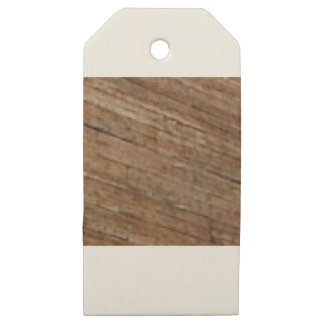 slant wood fiber wooden gift tags