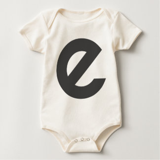 Slanted E Baby Bodysuit